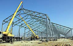 Построить коровник, птичник, зернохранилище, навесы строительство