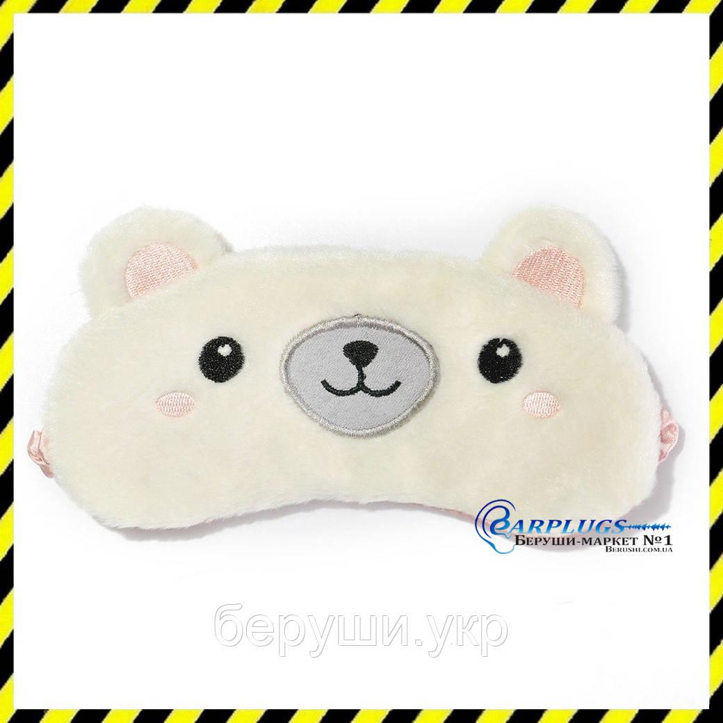 Дизайнерская маска для сна Silenta Мишка.