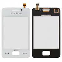 Оригинальный сенсорный экран Samsung S5222 Star 3 Duos белый (тачскрин, стекло в сборе)