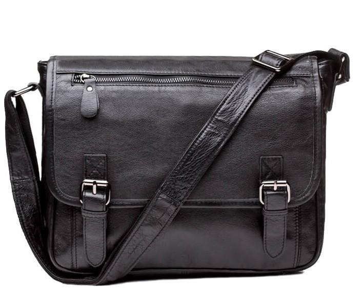 0098b4ca875f Мужская сумка через плечо TIDING BAG 6046 Черная: продажа, цена в ...