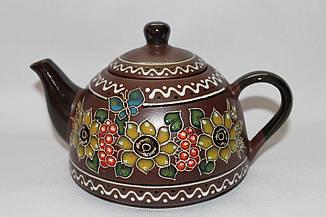 "Чайник с ситом ""Декор Калина"" (1 л)"