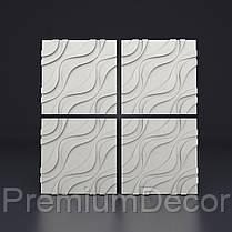 Копія Гипсовые 3Д/3D панели УСТИНА, фото 3