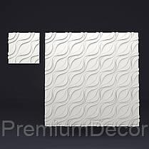 Копія Гипсовые 3Д/3D панели УСТИНА, фото 2