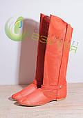 Женские летние кожаные сапоги Wladna 423 к 40 размер
