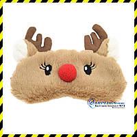 Дизайнерская маска для сна Silenta Deer.