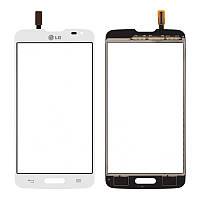 Сенсорный экран LG D405 Optimus L90 белый (тачскрин, стекло в сборе)