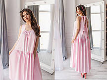 Стильное длинное в пол женское платье в стиле бохо.5 цветов.Размеры:универсал 42-46.