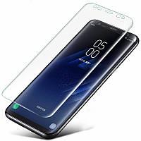 Защитное стекло на весь экран Samsung Galaxy S9 (изогнутое) (Самсунг С9)