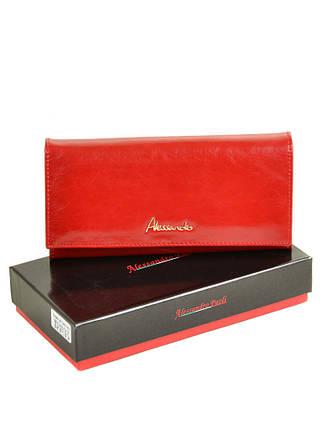 Кошелек Canarie кожа ALESSANDRO PAOLI W0807 red, фото 2