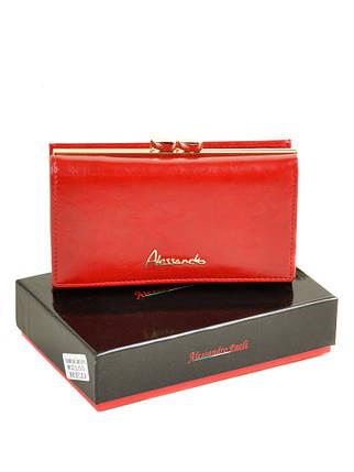 Кошелек Canarie кожа ALESSANDRO PAOLI W2155 red, фото 2