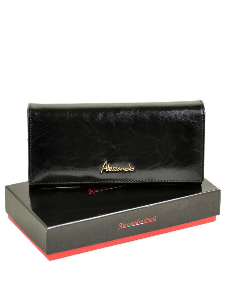 Кошелек Canarie кожа ALESSANDRO PAOLI W501 black