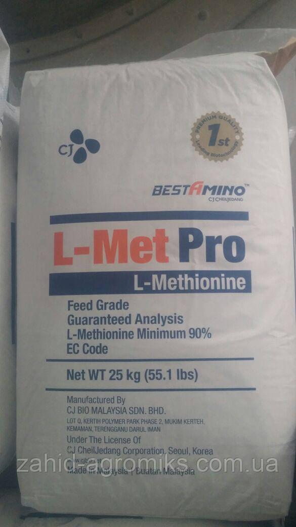 Аминокислота Метионин кормовий PRO 90% (фасовка 25 кг)