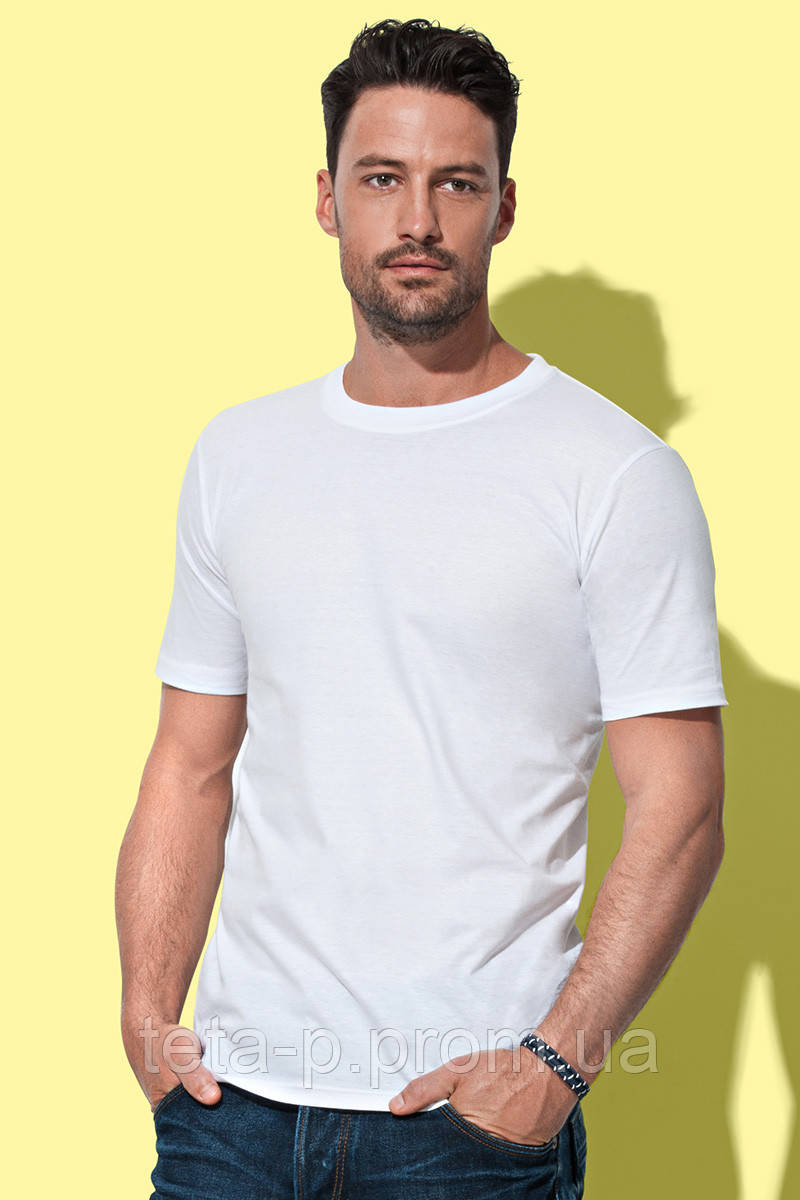 Мужская футболка Stedman 2010, белая