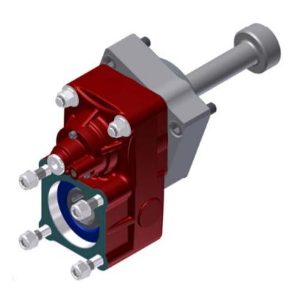 Коробка відбору потужності (КОМ) МАЗ ЯМЗ-239 ISO 280203 BEZARES