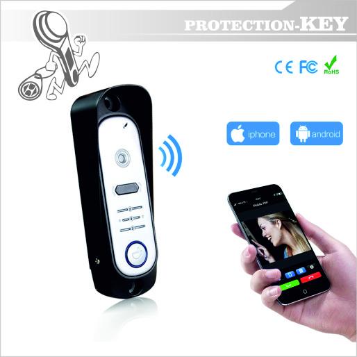 Видеопанель Defender PK 206 IP Wi-FiI Silver