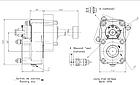 Коробка відбору потужності (КОМ) МАЗ ЯМЗ-239 ISO 280203 BEZARES, фото 2