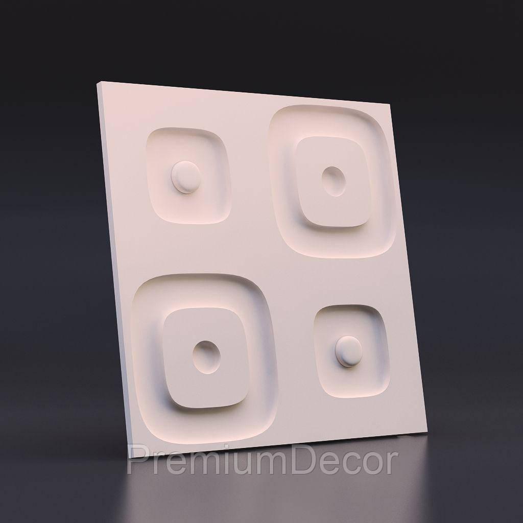 Гипсовые 3Д/3D панели ЗАНЗИБАГ