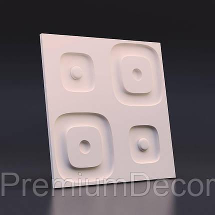 Гипсовые 3Д/3D панели ЗАНЗИБАГ, фото 2