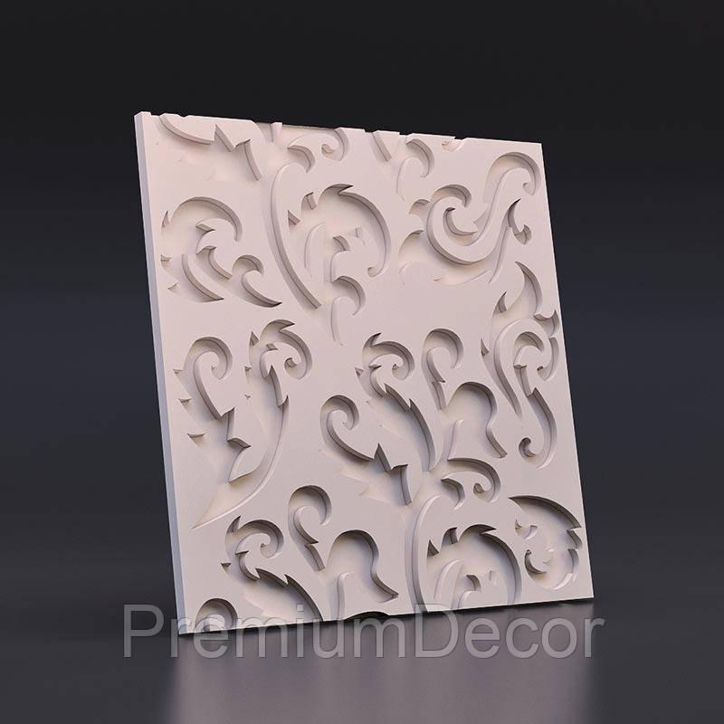 Гипсовые 3Д/3D панели МНОГОЦВЕТ