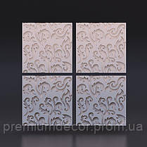 Гипсовые 3Д/3D панели МНОГОЦВЕТ, фото 3