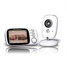 Видеоняня радионяня Baby Monitor VB603 экран 3.2 дюйма. Режим ночного