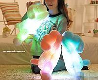 Мягкая игрушка собачка со светом,плюшевые игрушки,ночник