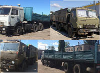 Перевозка грузов КАМЗ