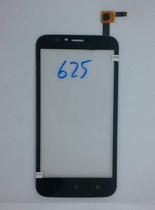 Cенсорный экран Huawei Ascend Y625 BLACK (тачскрин, сенсор), фото 2