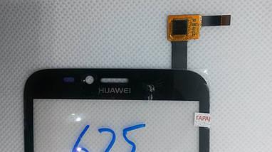 Cенсорный экран Huawei Ascend Y625 BLACK (тачскрин, сенсор), фото 3