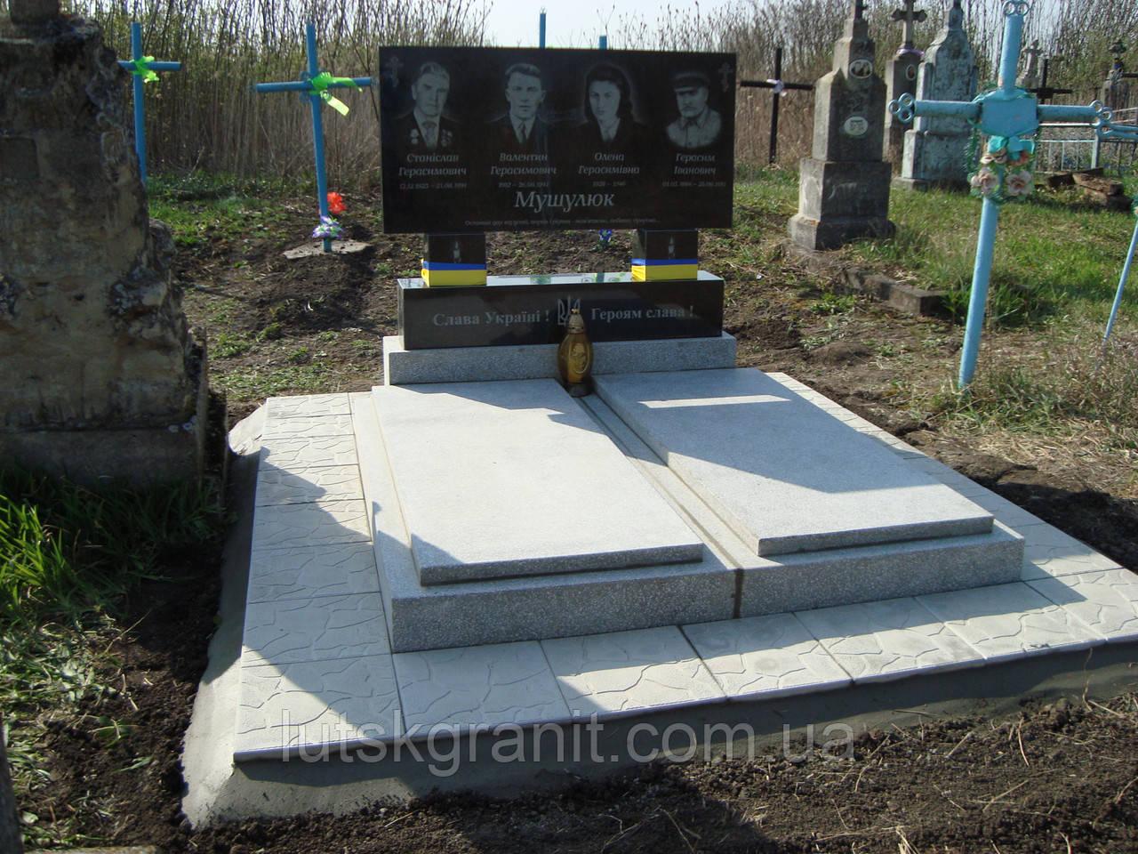 Встановлення пам'ятників у Волинській області