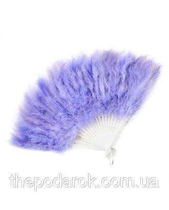 Віяло перо Фіолетовий