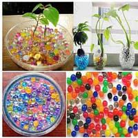 Волшебные шарики для цветов и декора ( гидрогель Семь цветов )