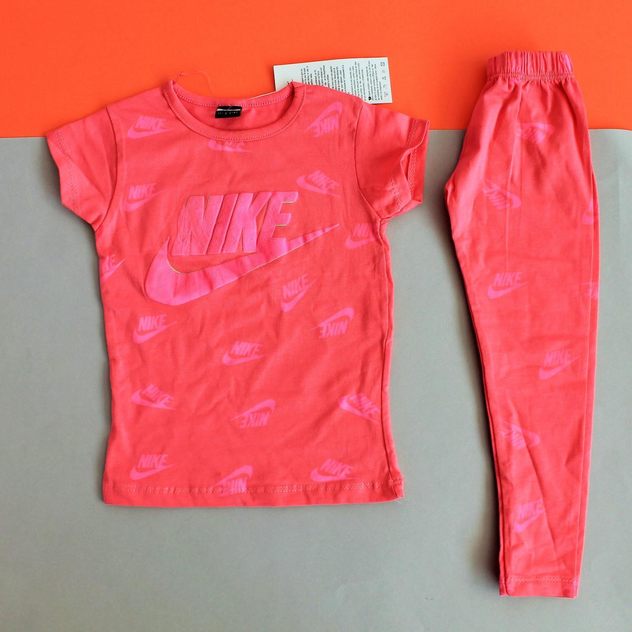 de41b109 Футболка и лосины NIKE девочке размер 2,7 лет - Style-Baby детский магазин