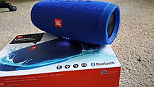 Беспроводная портативная колонка JBL Charge 3+ blue Реплика, фото 2