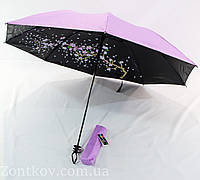 """Механический зонт обратного сложения """"сакура"""" от фирмы """"Yuring"""""""