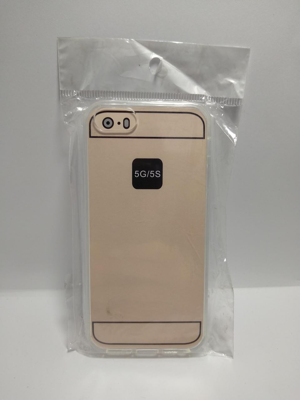 Силиконовый чехол Iphone 5 / 5s прозрачный