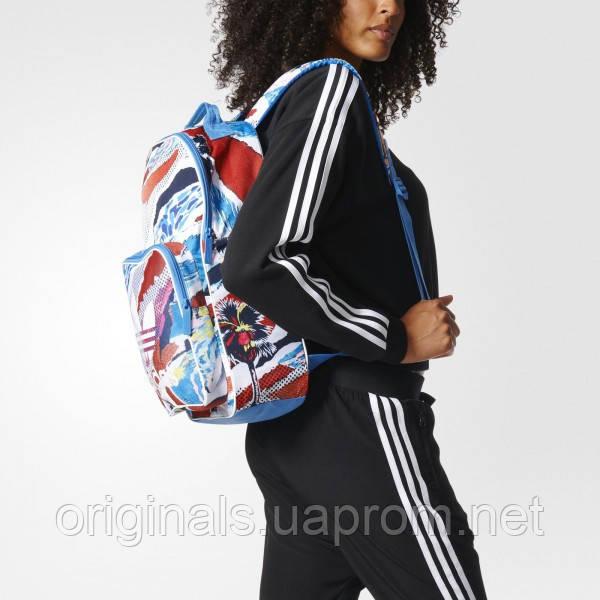 Рюкзак Adidas Originals с принтом BK7020 на распродаже