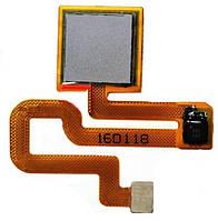 Оригинальный шлейф сканера отпечатка пальца Xiaomi Redmi Note 3 Pro серый