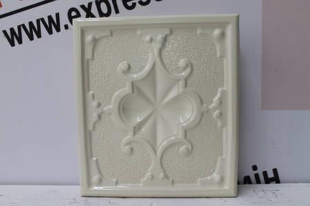 Изразцовая плитка «ПИКА» слоновая кость , фото 2