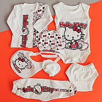 Одежда на выписку Kitty для новорожденного 7 предметов