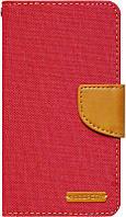 Чехол-книжка Goospery Canvas Diary Universal 4.0'-4.5' Red, фото 1