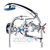 Двохвентильний змішувач для ванни Zegor DMT3