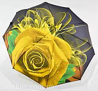 """Женский зонт автомат """"Rose Flower"""" на 9 спиц от фирмы """"Lantana"""""""
