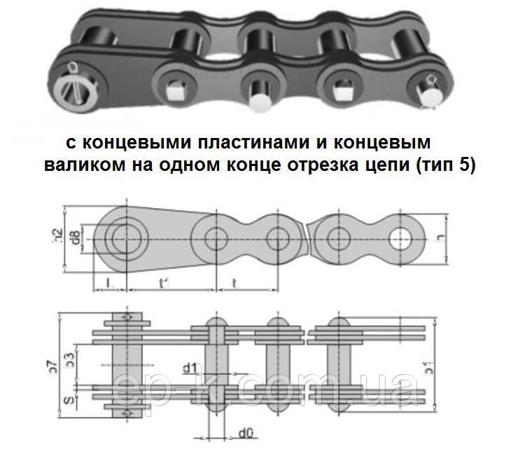 Цепи грузовые пластинчатые G ГОСТ 191-82