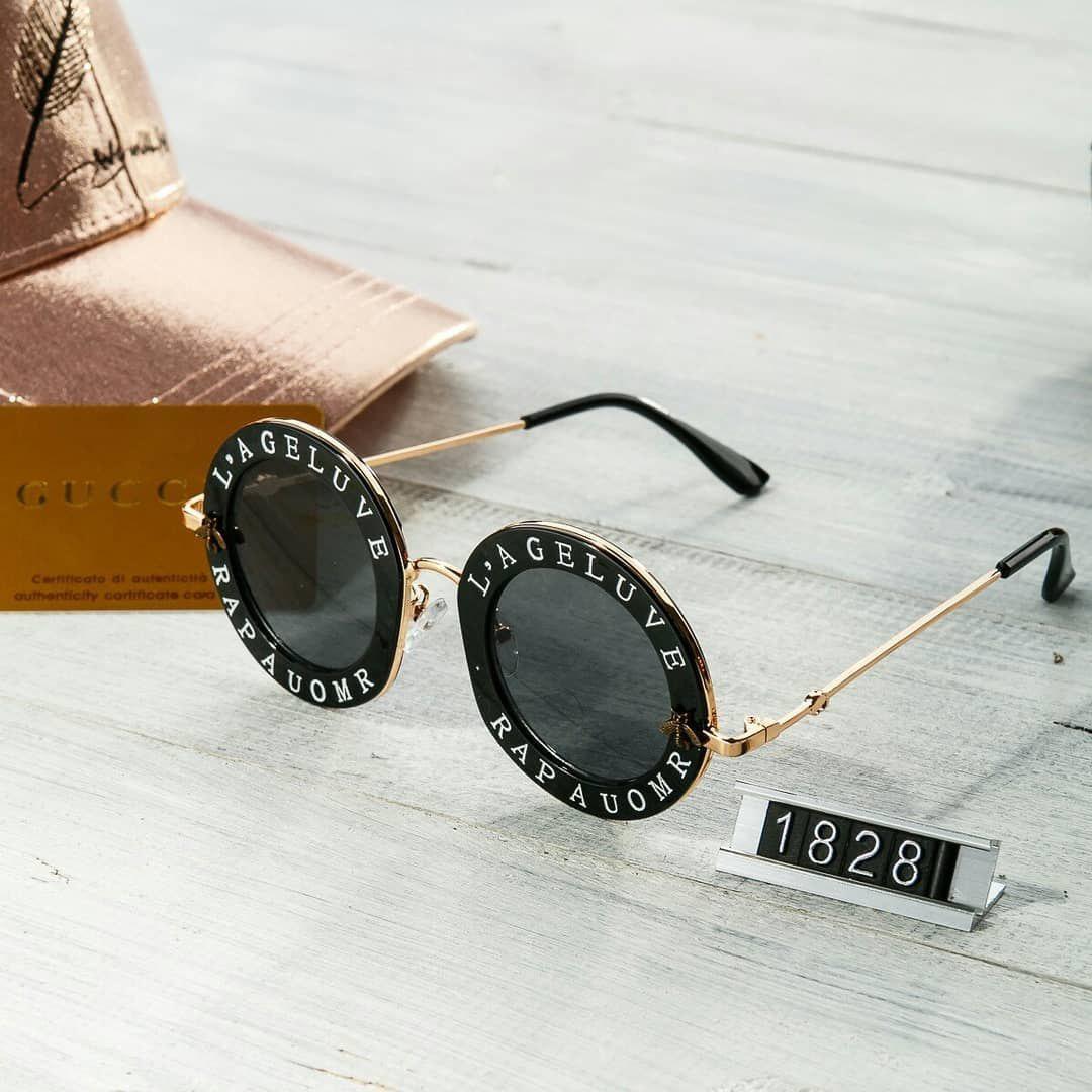 Женские солнцезащитные очки Gucci гуччи круглые черные - Интернет-магазин  одежды и аксессуаров в Киеве 833a79a2a2b