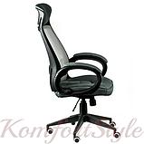 Кресло офисное Briz grey/black, фото 2