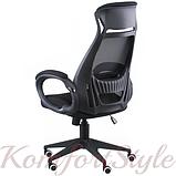 Кресло офисное Briz black fabric, фото 2