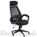 Кресло офисное Briz black fabric, фото 3
