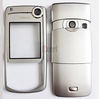 """Корпус """"А"""" (деш) с клавиатурой Nokia 6680 сталь"""