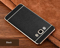 TPU чехол для Samsung Galaxy J7 2016 j710 Имитация кожи (2 Цвета), фото 1